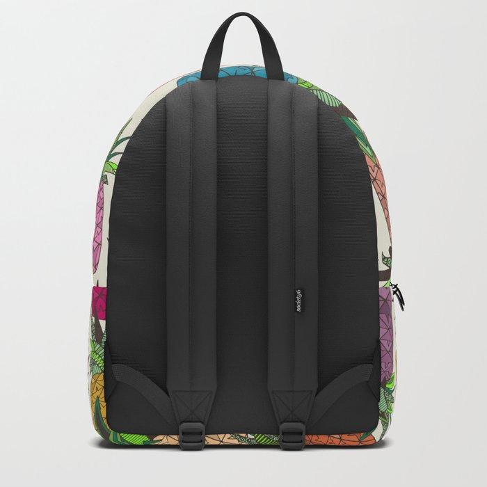 West Coast pineapples Backpack