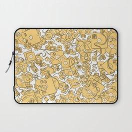 Technology! - Yellow Laptop Sleeve