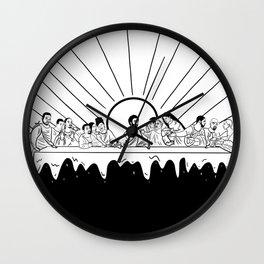 The Last Supper - Rapper Edition Wall Clock