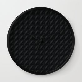 Carbon Fiber Wall Clock
