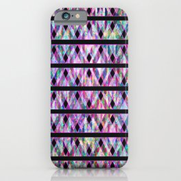 Geometric Glossy Pattern G330 iPhone Case