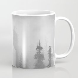 Harmony - Misty Mountain Forest Nature Photography Coffee Mug