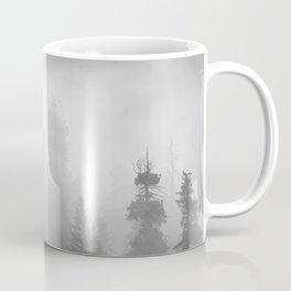 Harmony - Misty Mountain Forest Nature Photography Coffee Mug