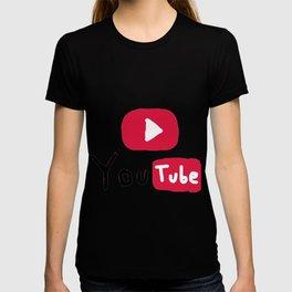 Only for Youtuber - YouTube lover best design T-shirt