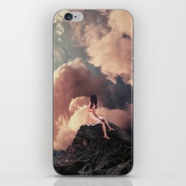 You came from the Clouds iPhone Skin