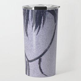 Girl with Side Ponytail Travel Mug