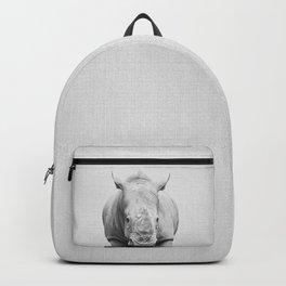 Rhino 2 - Black & White Backpack