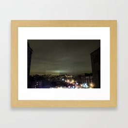 Untitled Inwood Long Exposure  Framed Art Print
