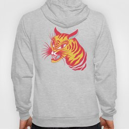 Tigerpop pattern Hoody