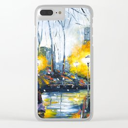 Solstice in the City, vol.1 Clear iPhone Case