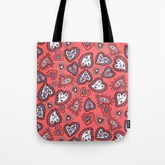 Love & heart Tote Bag