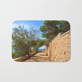 Mediterranean walkway Bath Mat