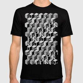 SUPER MARIO BLOCK-OUT! (White Edition) T-shirt