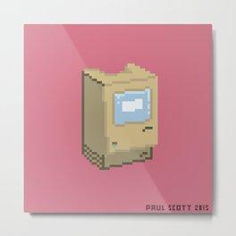 Apple Macintosh 128K Metal Print