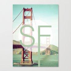 San Francisco Love Canvas Print