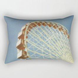 At the Pier Rectangular Pillow