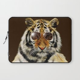 In the Eye of the Tiger Laptop Sleeve