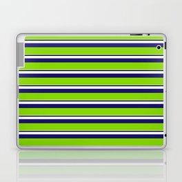Green Stripes of Spring Laptop & iPad Skin