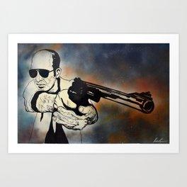 Gonzo Art Print