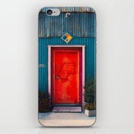 Red Door Downtown iPhone Skin