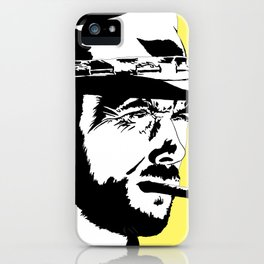 Clint iPhone Case