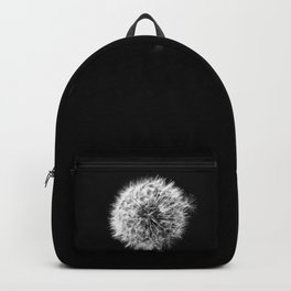 Black and White Dandelion Backpack