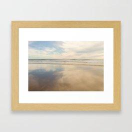The Afternoon Lingered Framed Art Print