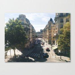 Looking Down on Paris, 12th Arrondissement Canvas Print