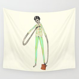 OFFICE WORKER Wall Tapestry