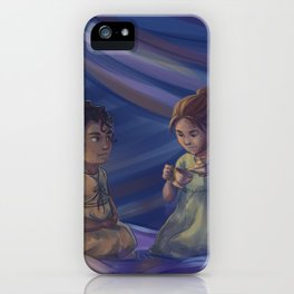 Winter and Selene iPhone Case