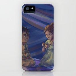 Winter and Selene iPhone Case
