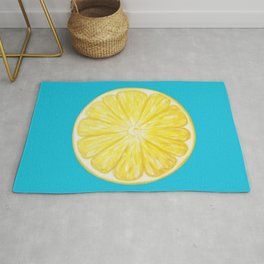 Lemon Slice in the Mediterranean Rug