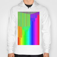pivot Hoodies featuring R Experiment 5 (quicksort v3) by X's gallery