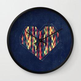 Interstellar Heart Wall Clock