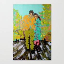 freewheeling Canvas Print
