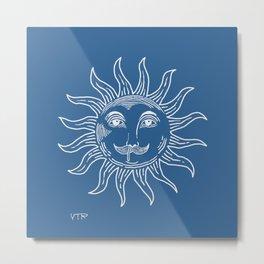 Runny nose sun Metal Print