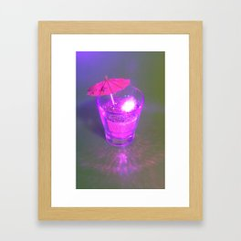 Twinkle Sip Framed Art Print