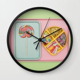 Party Tray Wall Clock