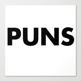 PUNS Canvas Print