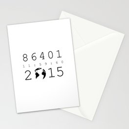 86401 Leap Second 2015 Stationery Cards