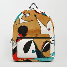 Abstract Tea Critters Backpack