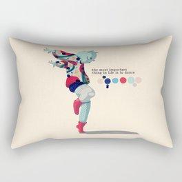 I'll dance all my life Rectangular Pillow