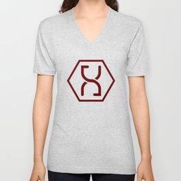 Altered Carbon Symbol Unisex V-Neck