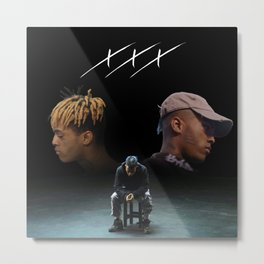 Triple X Dual Self Metal Print