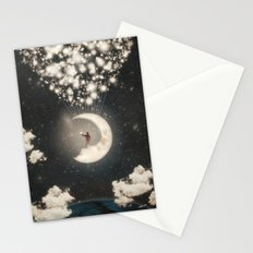 The Big Journey of the Man on the Moon  Stationery Cards