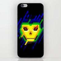 skeletor iPhone & iPod Skins featuring Skeletor by jaeTanaka