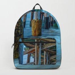 Long Exposure Under Newport Pier Backpack