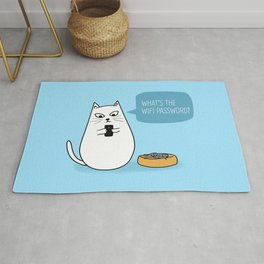 Wifi Cat Rug