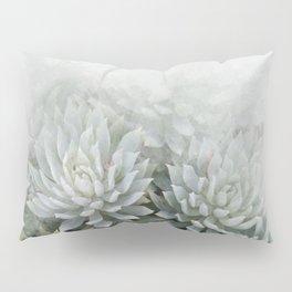 Watercolor bunch of Succulent plant Pillow Sham