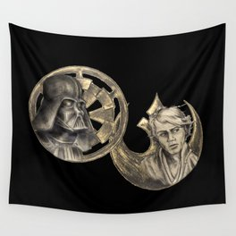 Darth Vader and Luke Skywalker -Redemption Wall Tapestry